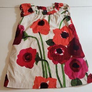 Gap Kids Floral  Corduroy Dress